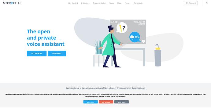 Screenshot_2020-08-20 Mycroft – The Open Source Privacy-Focused Voice Assistant - Mycroft