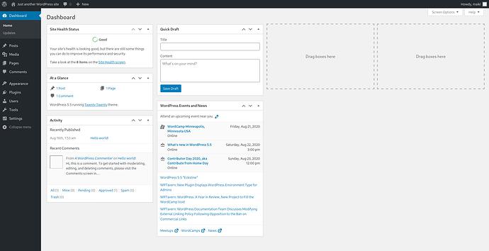 Screenshot_2020-08-21 Dashboard ‹ Just another WordPress site — WordPress